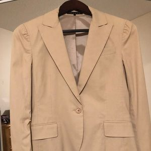 Light Tan Blazer - Theory - Size 4